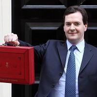 Chancellor George Osborne said 'in next week's Budget we will stay on the right track'