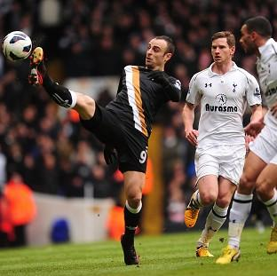 Dimitar Berbatov, left, handed Fulham a shock win at White Hart Lane