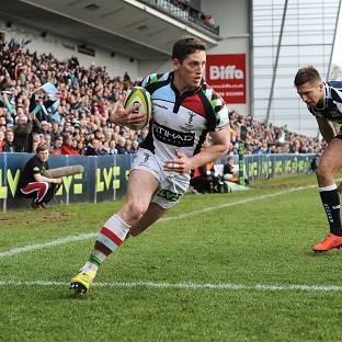 Tom Williams scored the first try for Harlequins as they beat Sale to win the LV= Cup