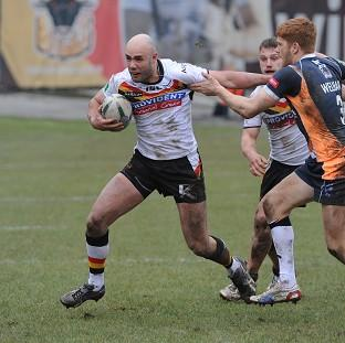 Adrian Purtell, left, made his return as Bradford Bulls defeated Hull KR