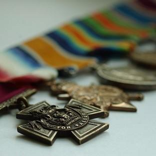 The Victoria Cross is the armed forces' highest decoration