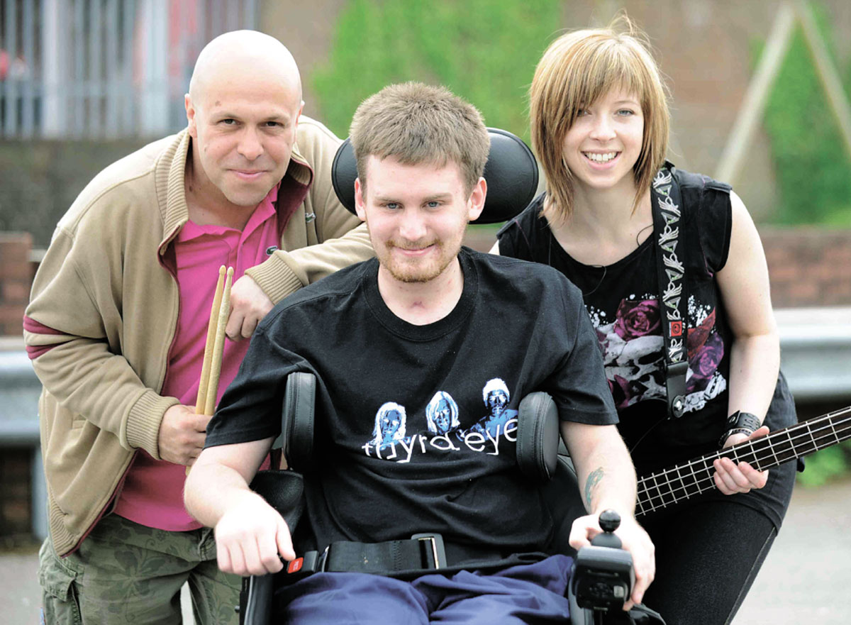 Man paralysed by cycling accident gives £20k to help Chepstow boy walk