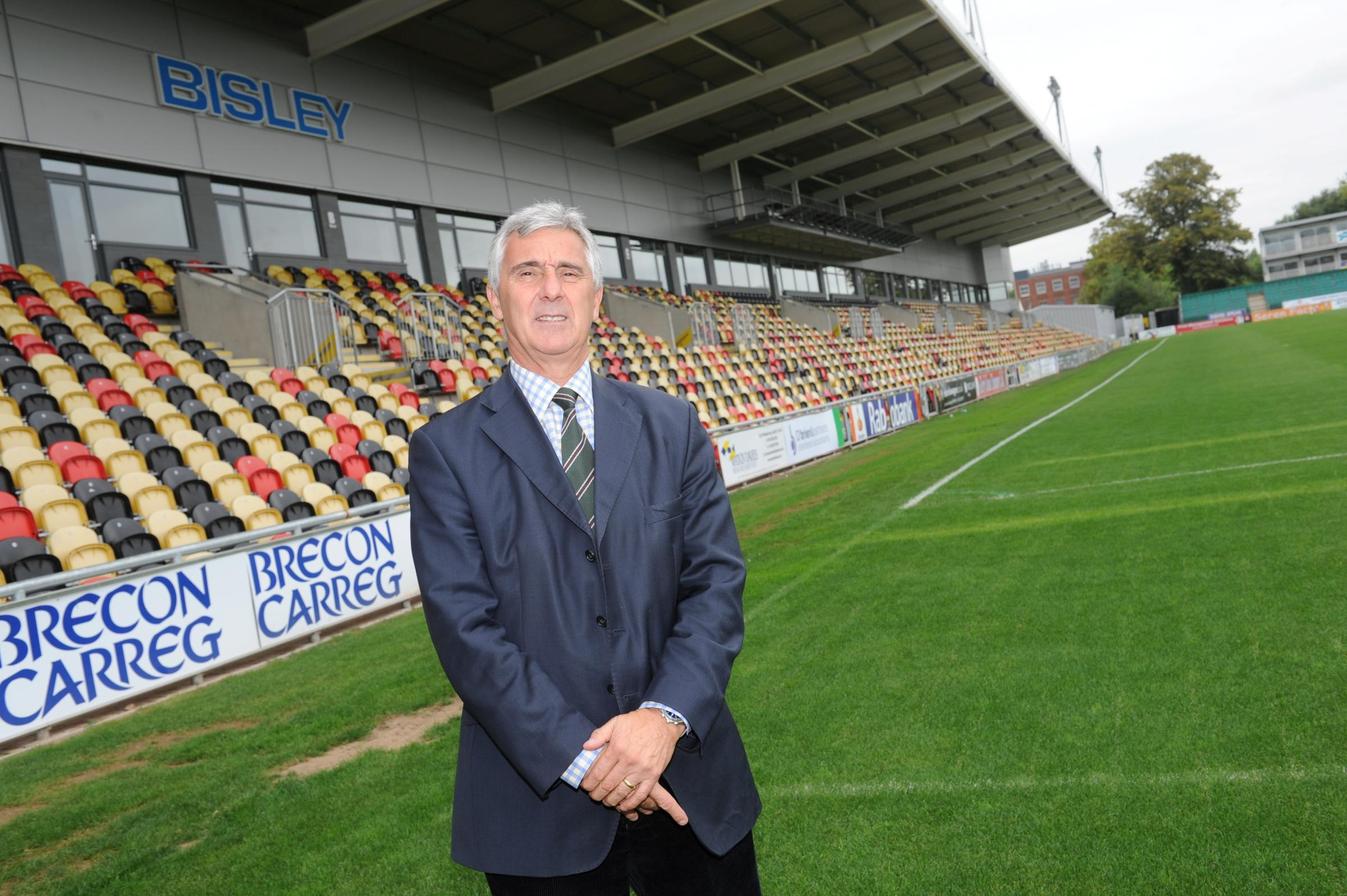 Newport Gwent Dragons Chief Executive Gareth Davies (1141816)