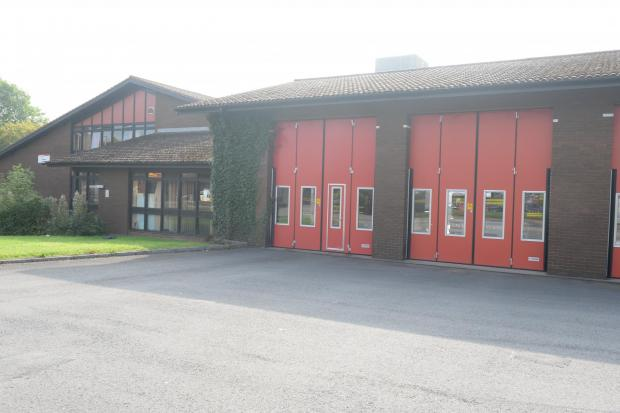 Cwmbran firestation (1227351)