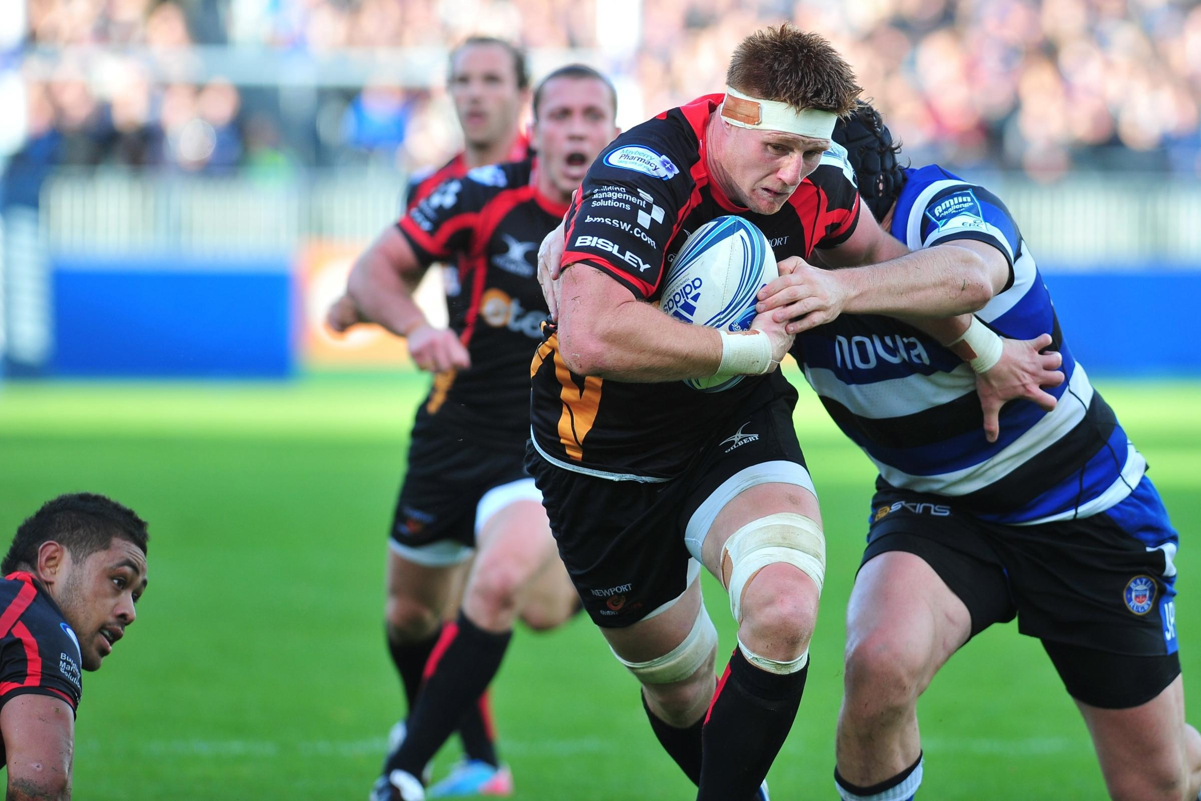 BACK IN ACTION: Dragons skipper Andrew Coombs returns after missing out for Wales in November