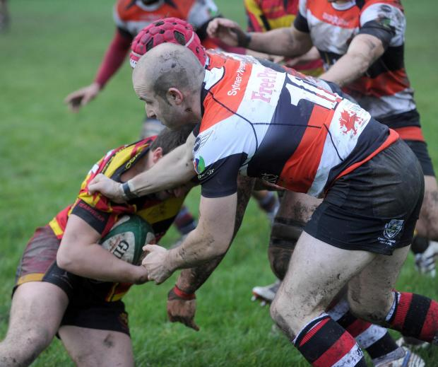 Pontypool RFC 'at risk' after blaze