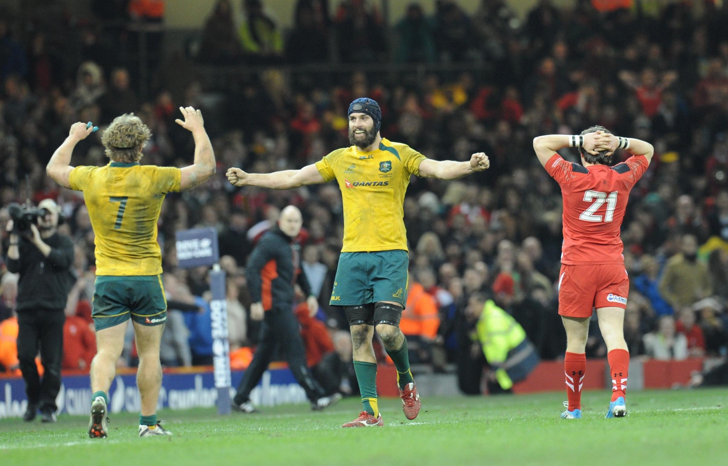 Another narrow loss but Wales are outclassed by Wallabies