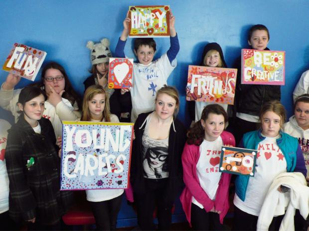 RESPITE: Torfaen Young Carers meet once a week