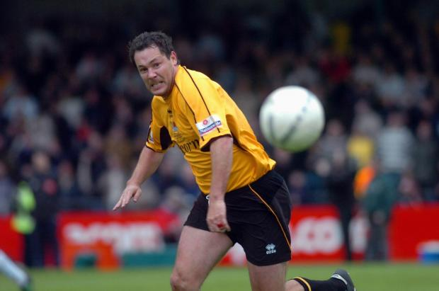 NEW CLUB: Former Newport player Julian Alsop has been signed by Monmouth Town