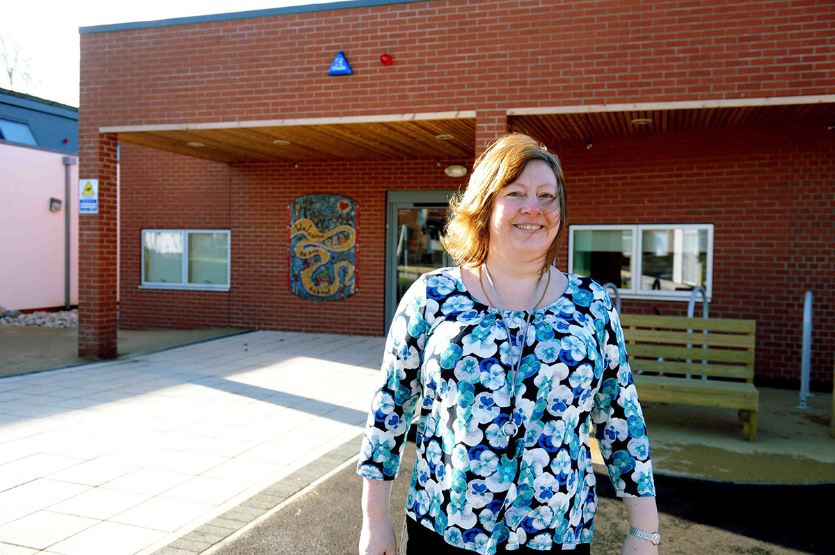 MUST DO BETTER: Inspectors have criticised standards at the £7m Dewstow Primary School, under headteacher Gillian Bray
