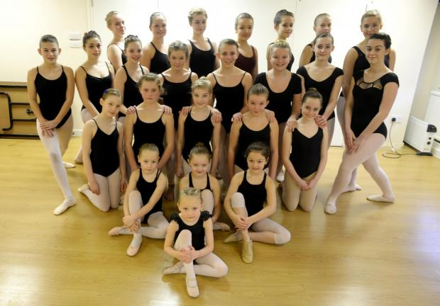 The Starlight Youth Dance Academy, who have been invited to perform in a special show in the West End in February (3378737)