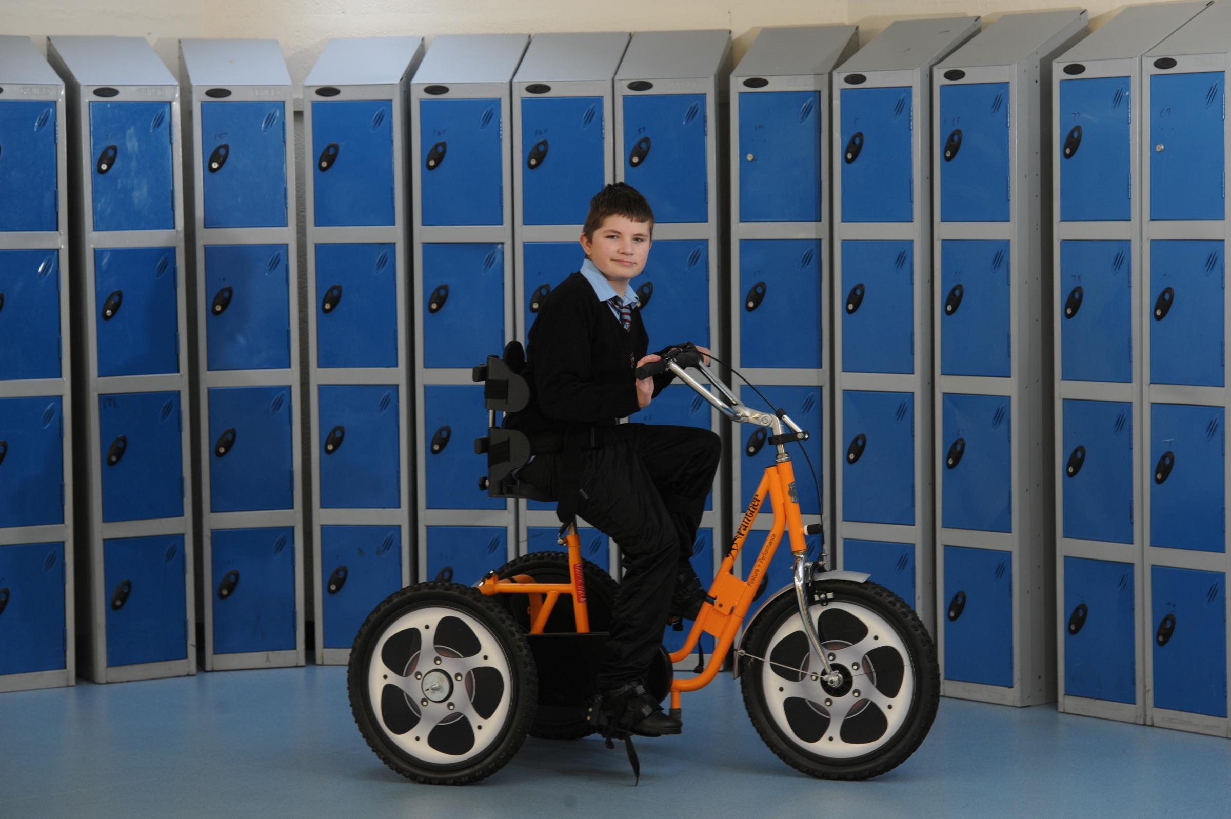 Paralympian praises move by Cwmbran school