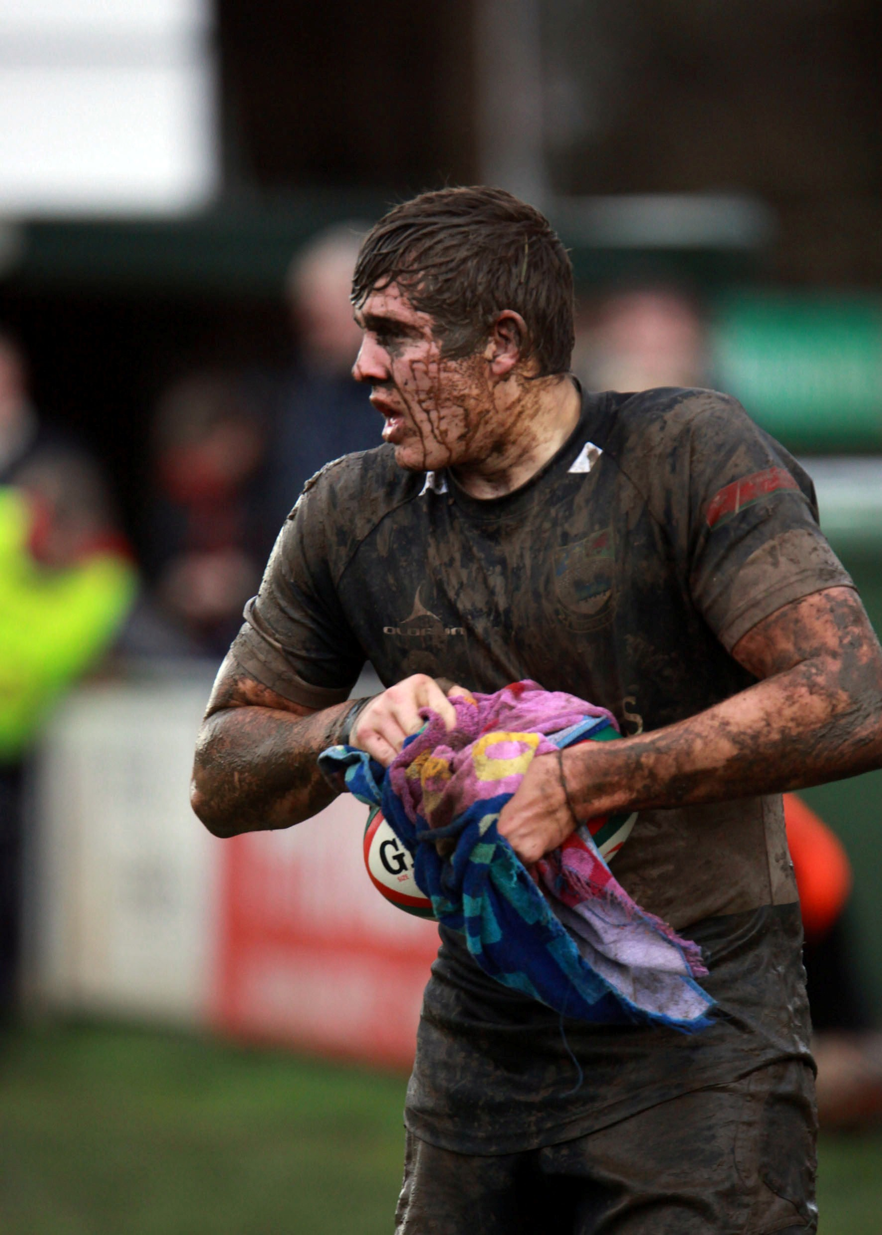 NATIONAL SERVICE: Dragons and Bedwas hooker Elliot DeePicture: IAN LOVELL