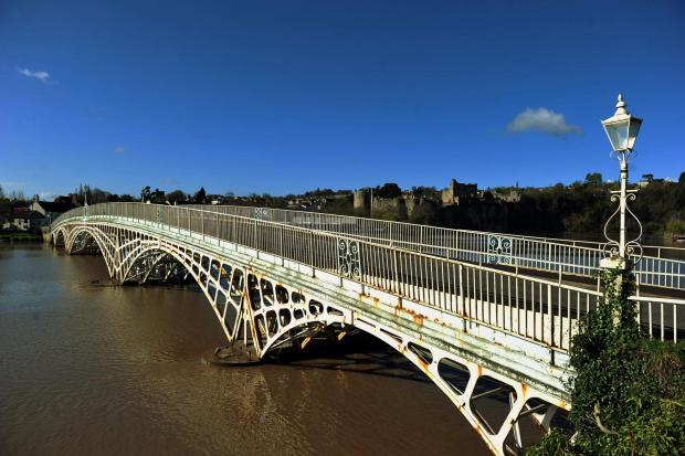REPAIRS BLOW: The Old Wye Bridge in Chepstow
