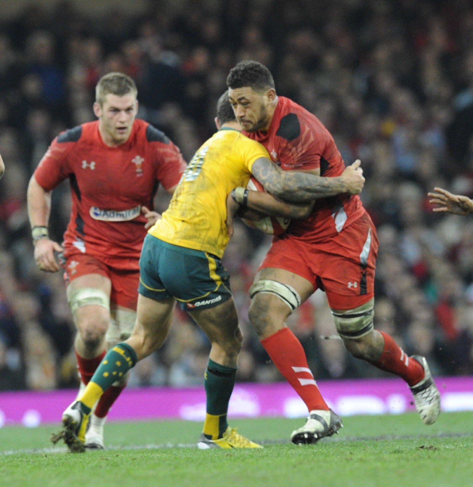 Wales ace Toby Faletau pleased that Sergio Parisse is back to lead Italy charge