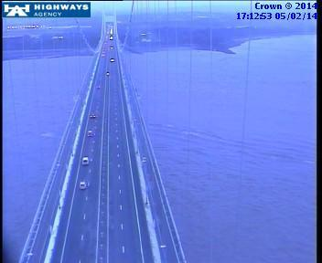 Old Severn Bridge closed to high-sided vehicles