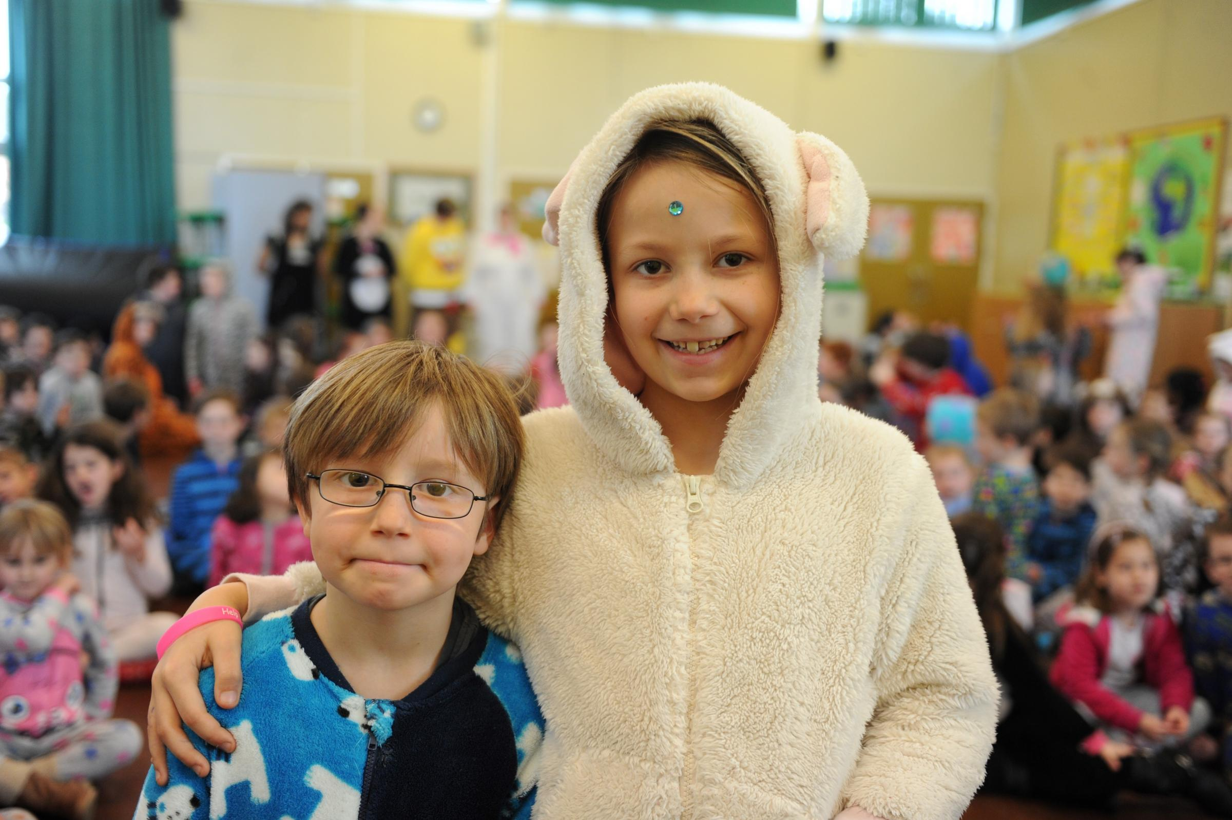 Chepstow pupils wear onesies to raise cash for Imogen appeal