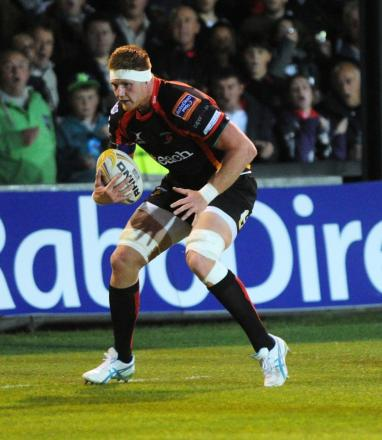 Injury rules Andrew Coombs out of Dragons' trip to Belfast