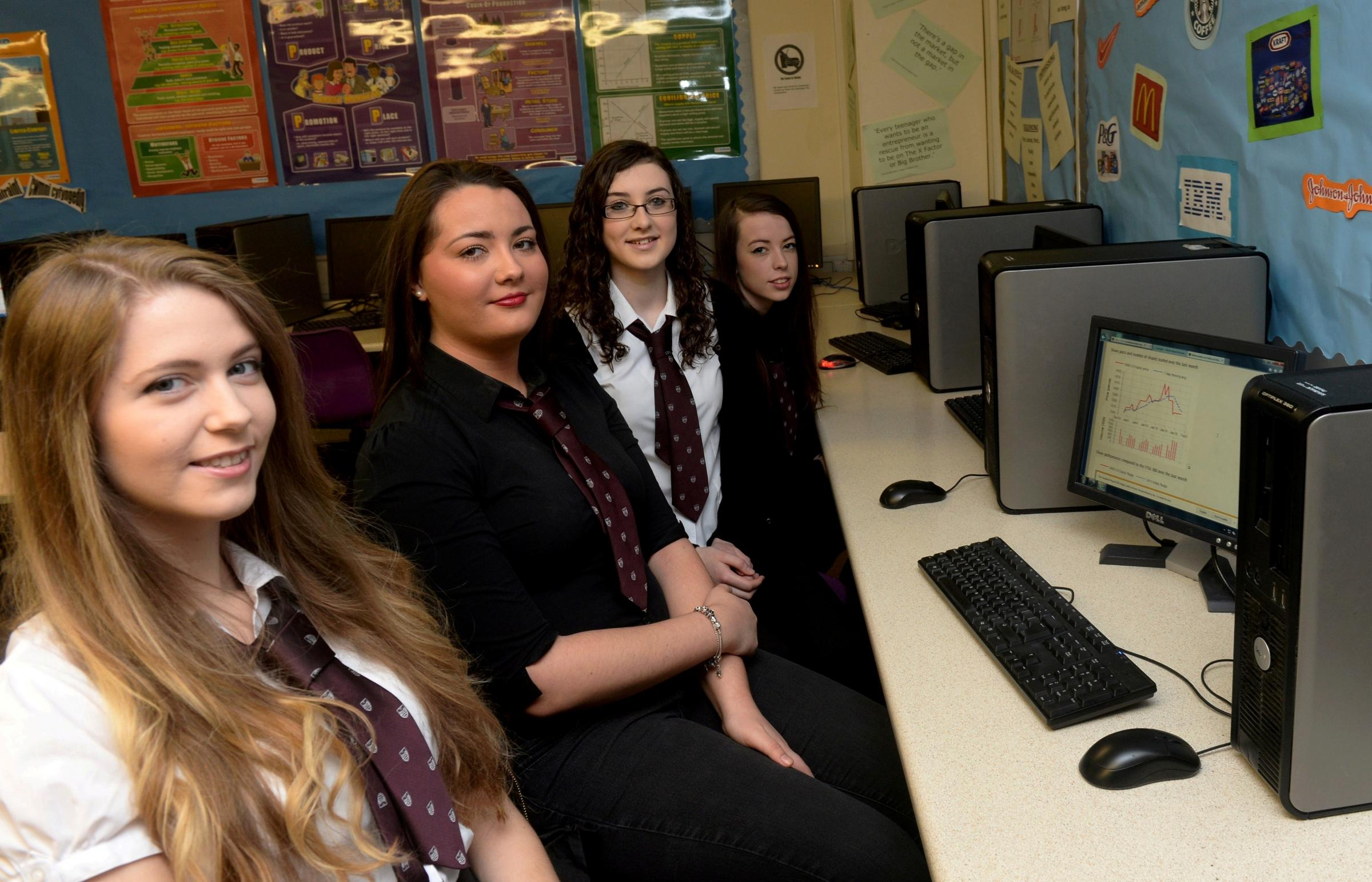 Chepstow sixth formers in investment final