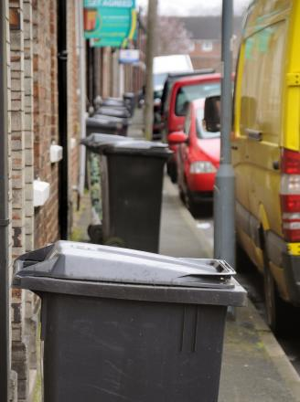 Monthly rubbish collection on cards for Torfaen