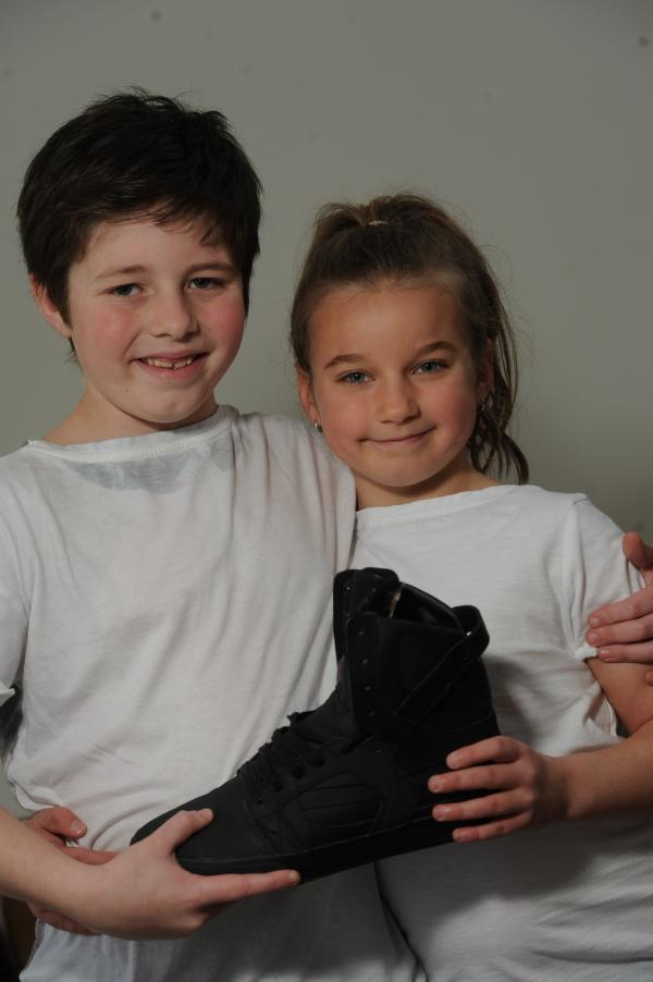 Justin Bieber's shoe up for auction in aid of Oakdale baby - thanks to New Inn youngsters