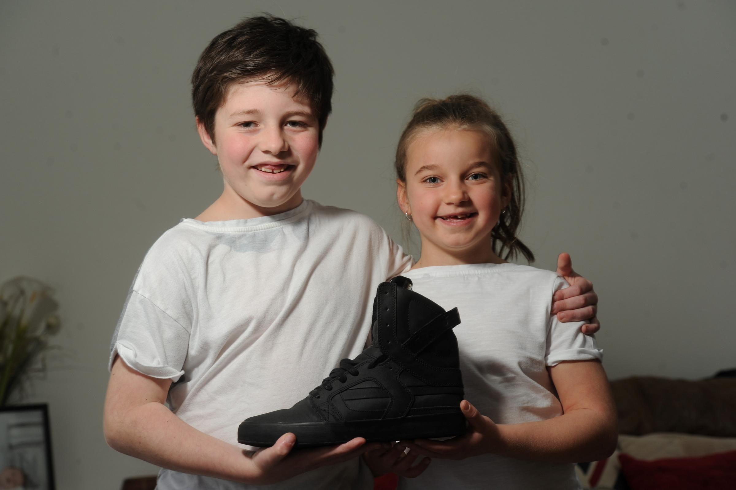 More bids for Cwmbran pupils' Justin Bieber shoe auction