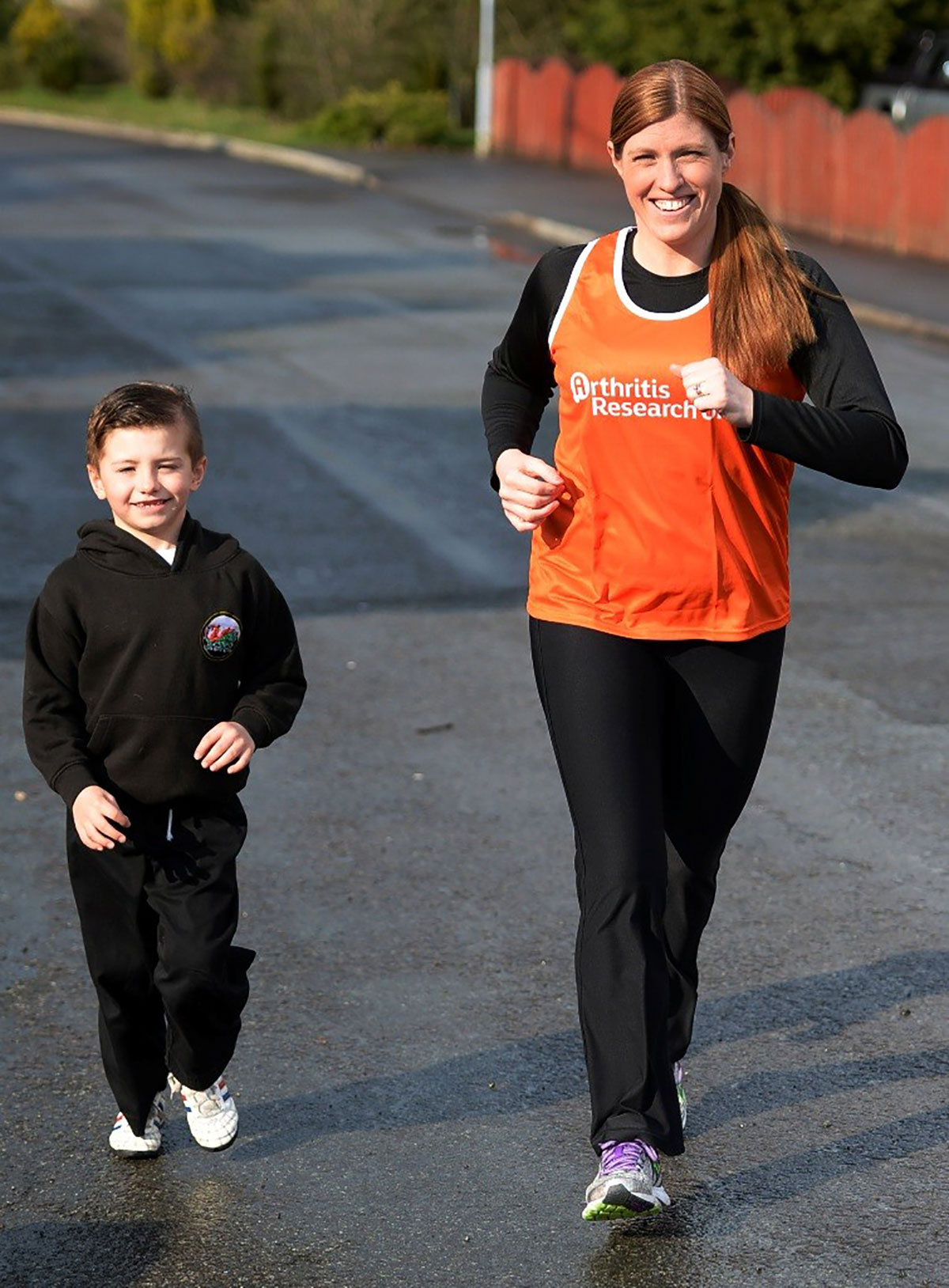 INSPIRATION: Leanne Jones with son William
