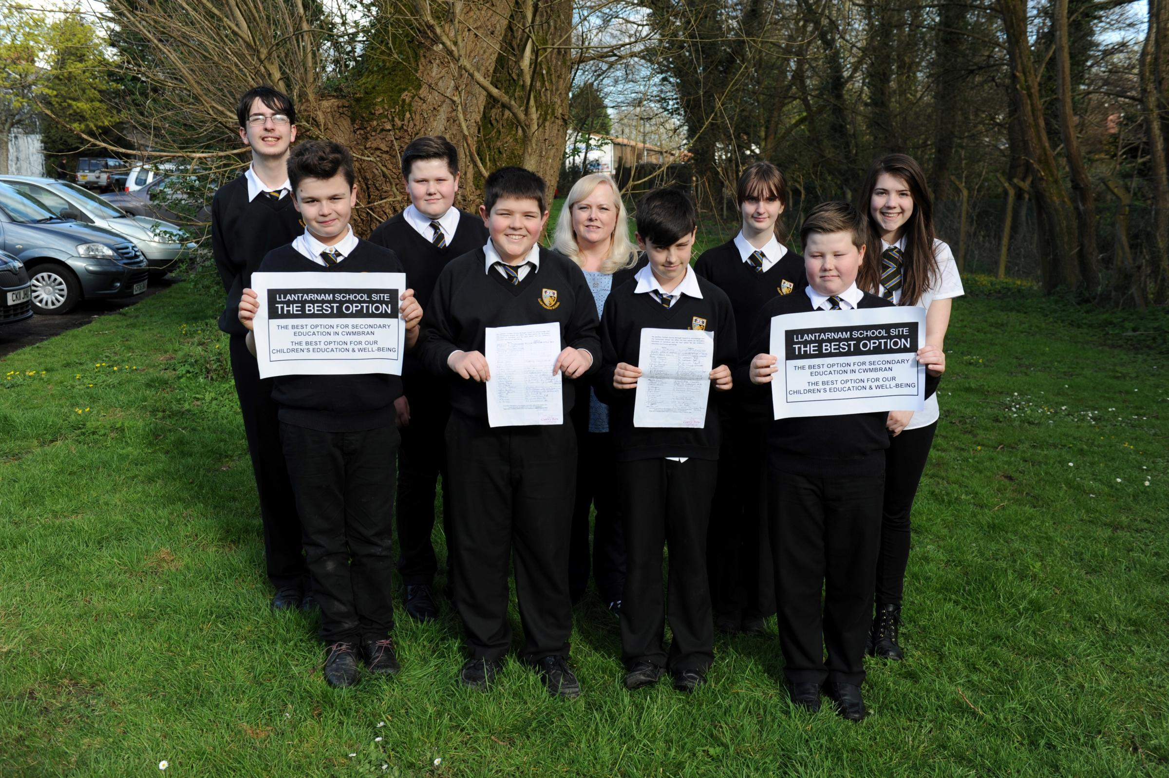 Over 4,000 sign petition to save Llantarnam School