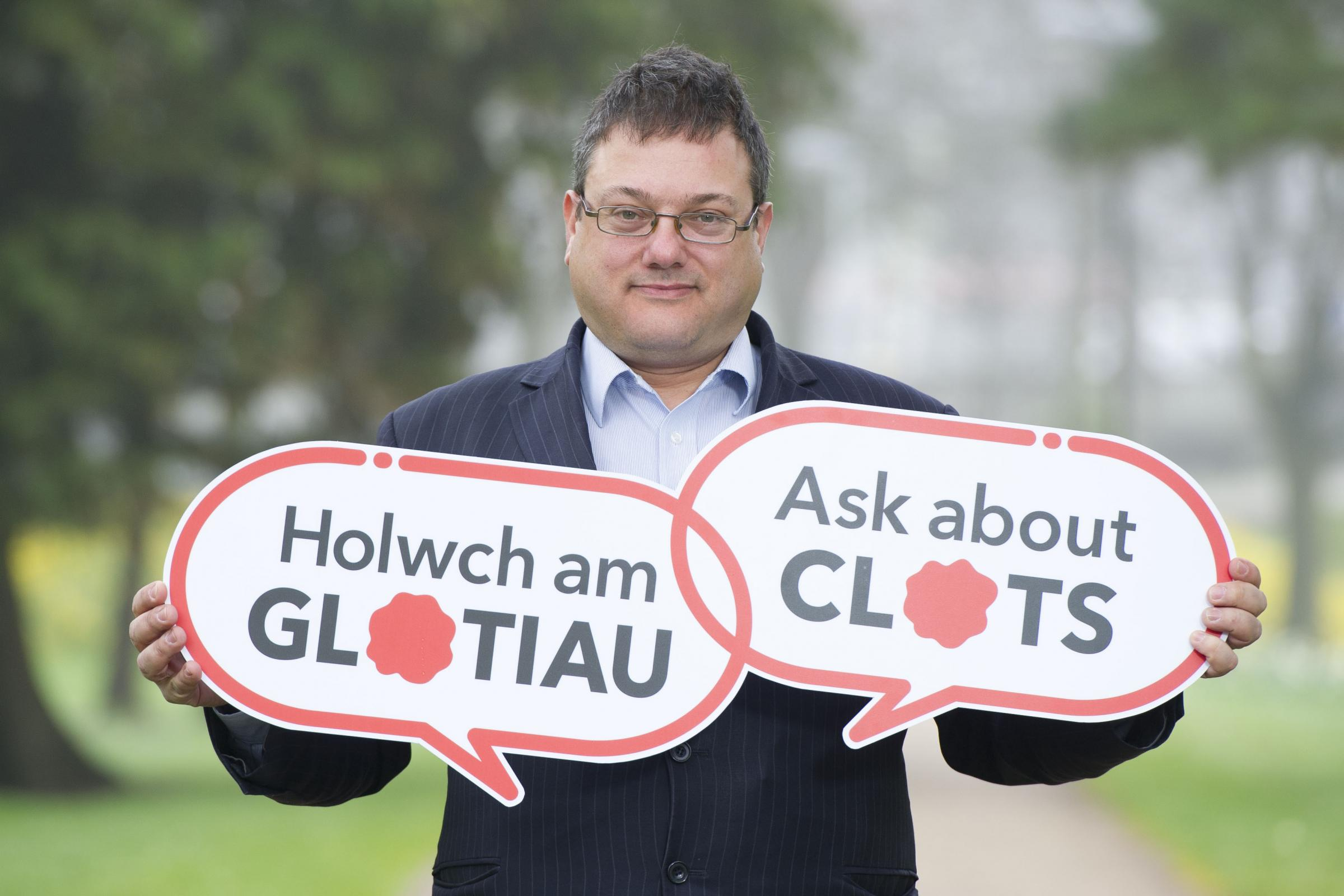 (5201668) AWARENESS CAMPAIGN: Dr Simon Noble says patients must become more aware of blood clot risks