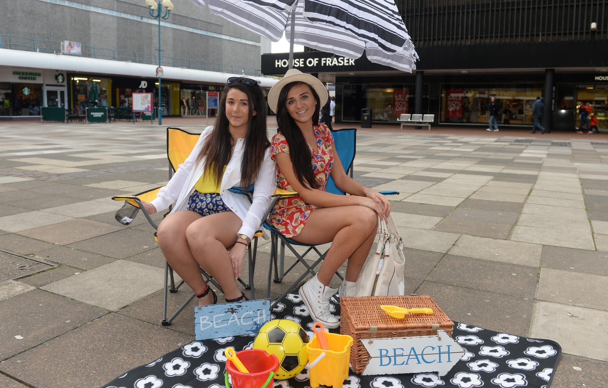 Urban beach set for Cwmbran