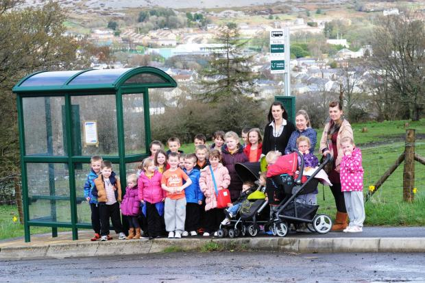 Parents and pupils from Forgeside are angry that their school bus that takes them to Blaenavon Heritage VC school could be cut (5208246)