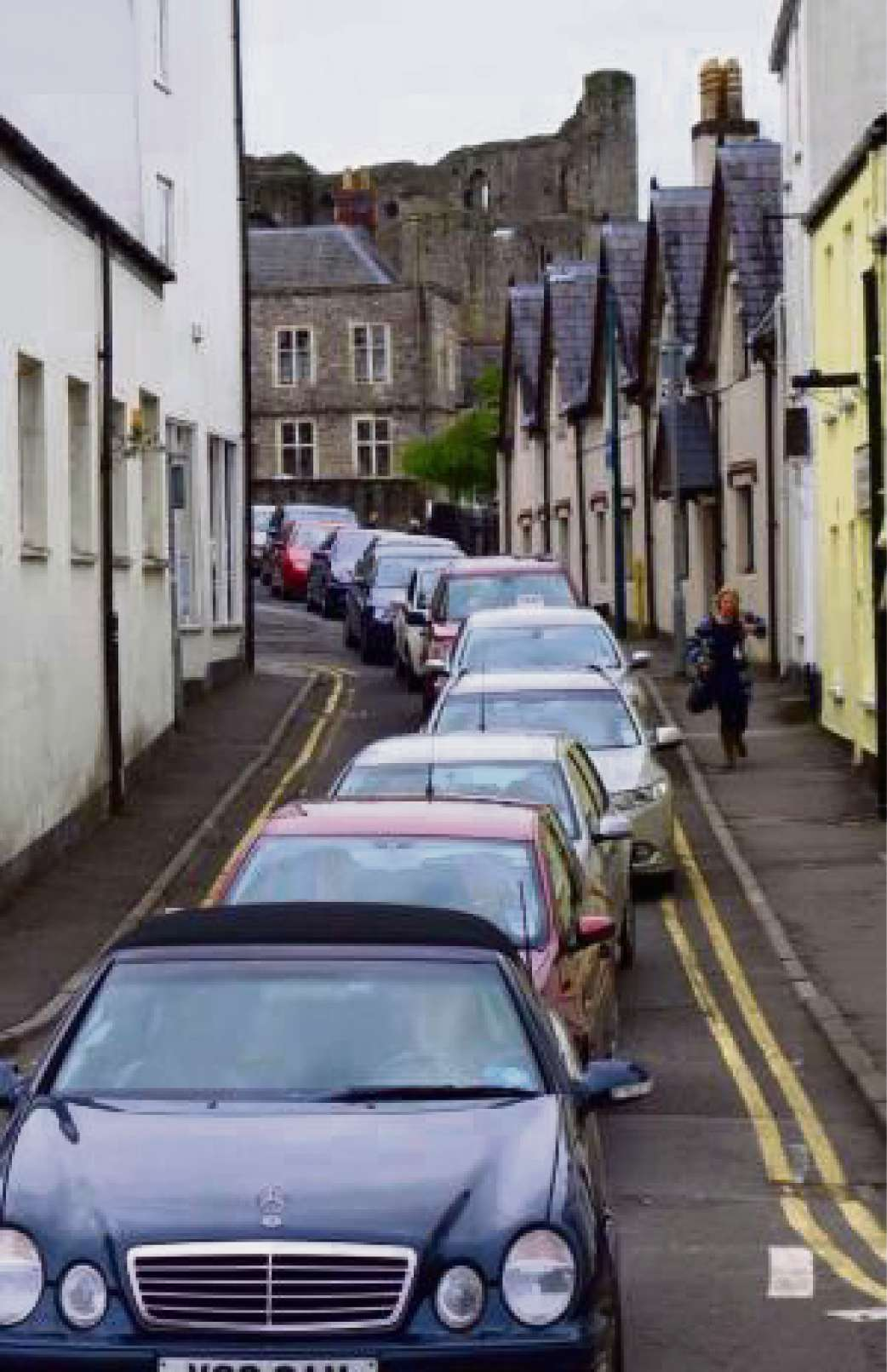 GRIDLOCK: Traffic queueing in Chepstow