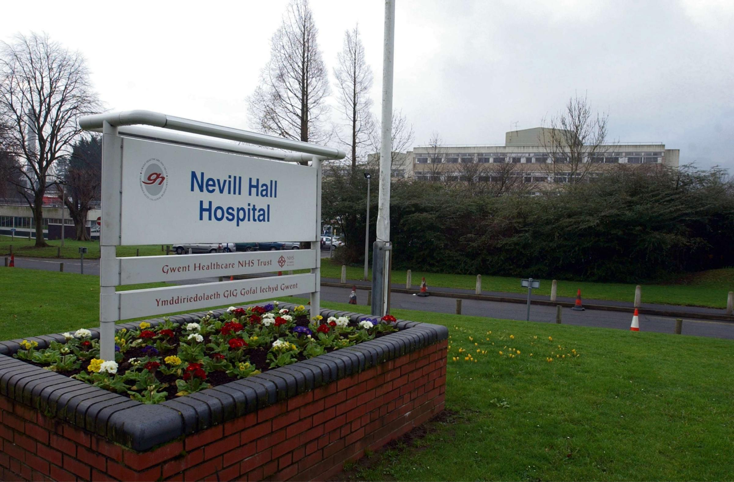GERNERAL VIEW OF NEVILL HALL HOSPITAL IN ABERGAVENNY.PIC: MIKE URWIN. (4004544)