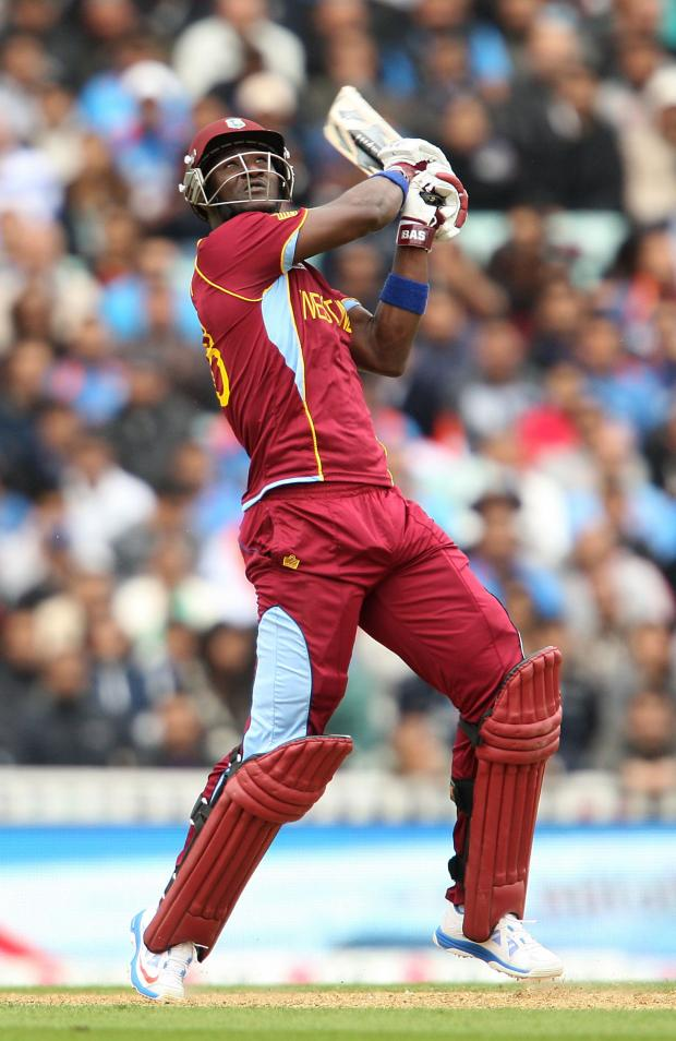 Free Press Series: BIG HIT: Darren Sammy has signed a short-term deal with Glamorgan