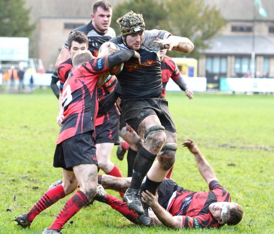 Cross Keys versus Aberavon On a charge  Cr