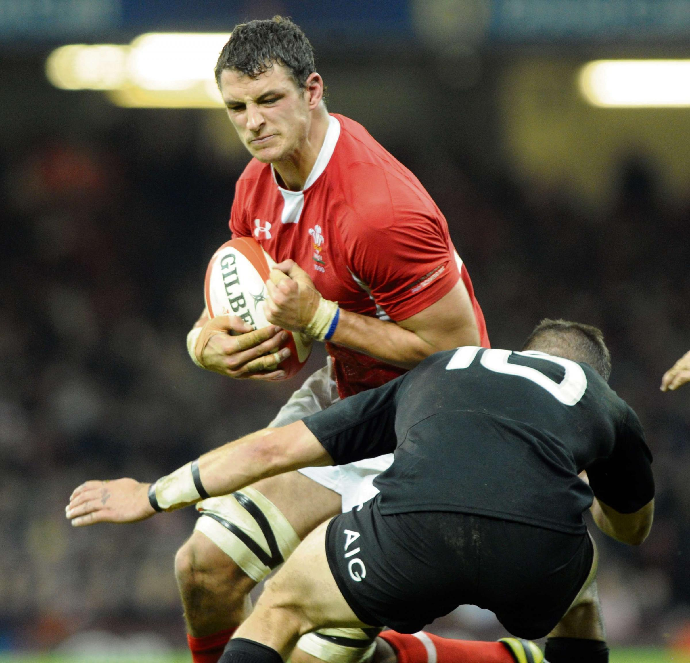WALES TEAM: Shingler gets the nod at seven