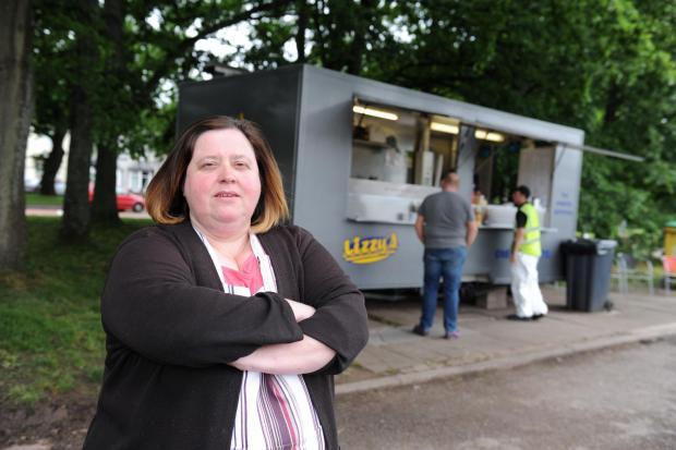 Free Press Series: Lizzy's catering trailer which sells food has been broken into for the third time in a year causing £2,000 plus in damage.  Pictured is owner Elizabeth Haynes. (6778650)