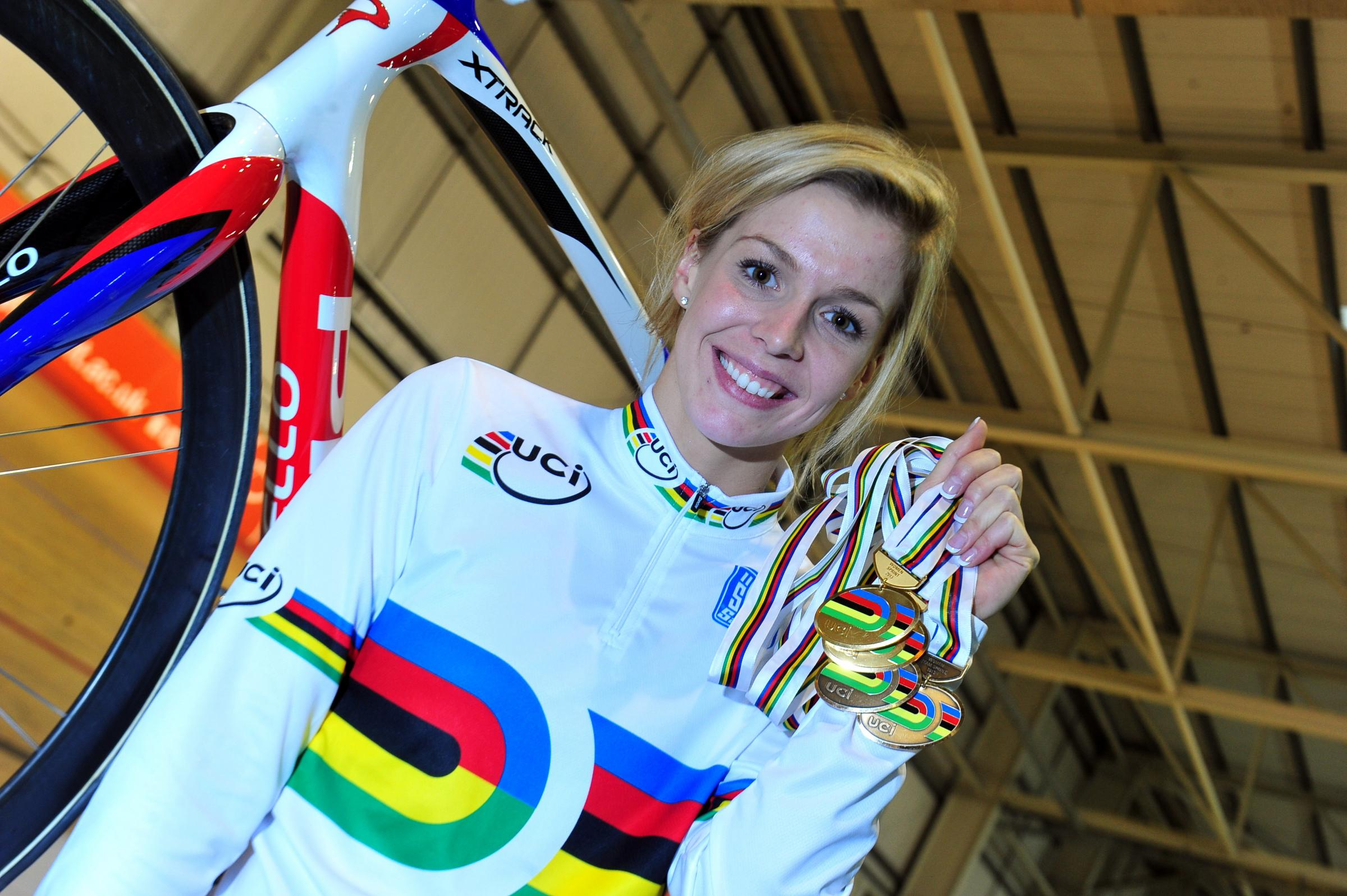 OUT: Double world champion Becky James will miss Glasgow 2014