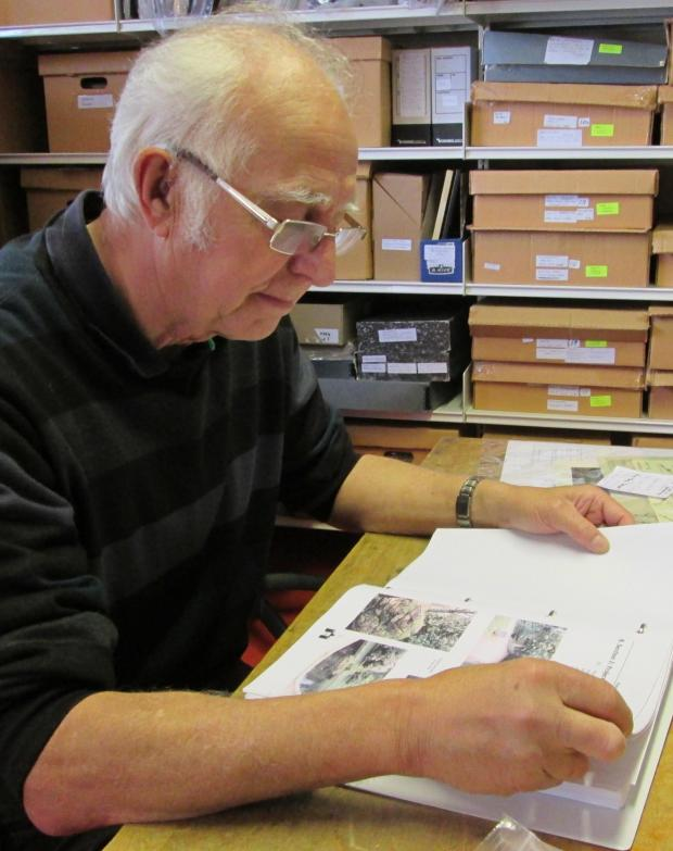Free Press Series: HISTORIAN: Roger Purbrick in Pontypool Museum's archive library