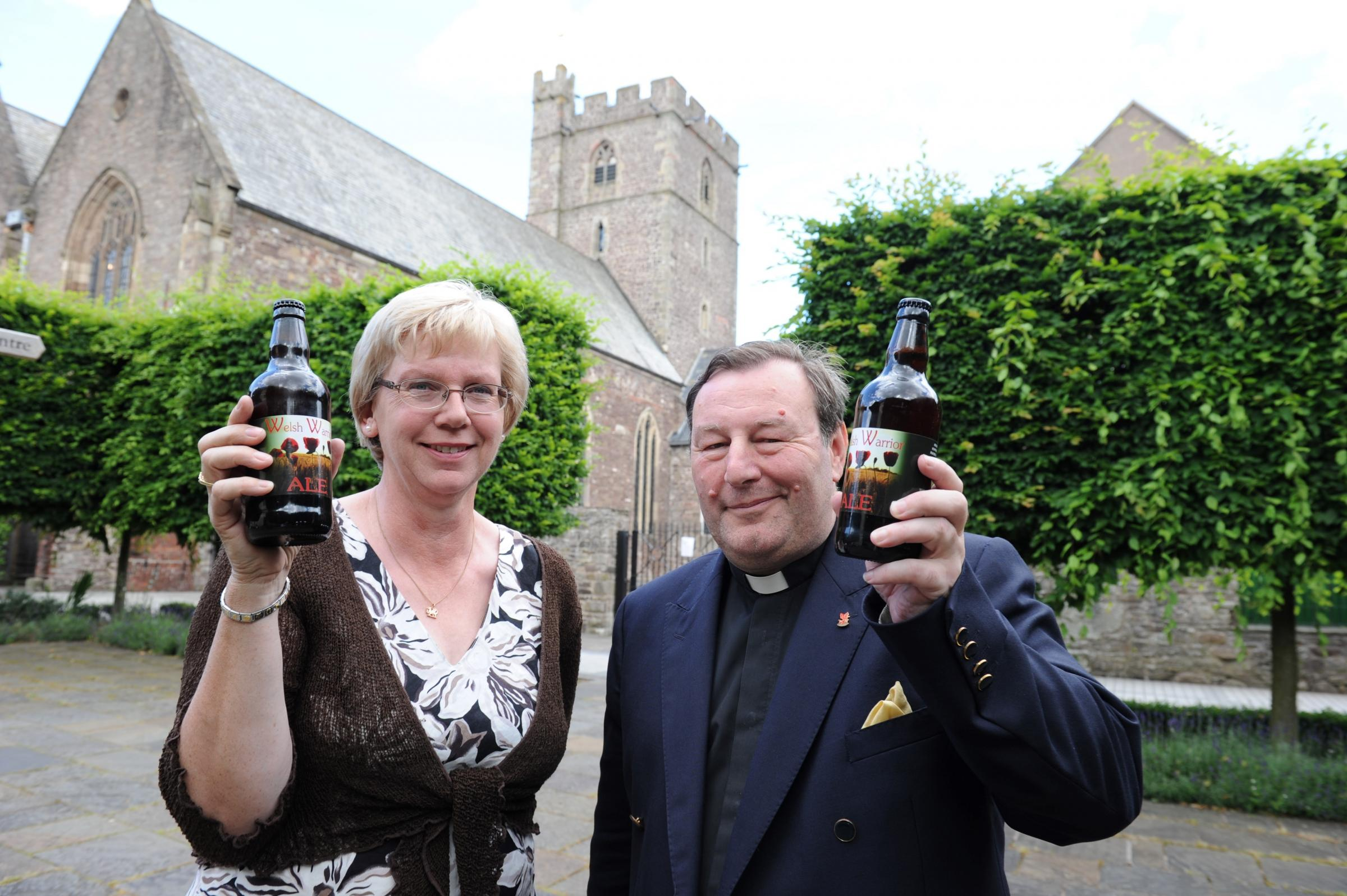 Beer launched in memory of Abergavenny soldier