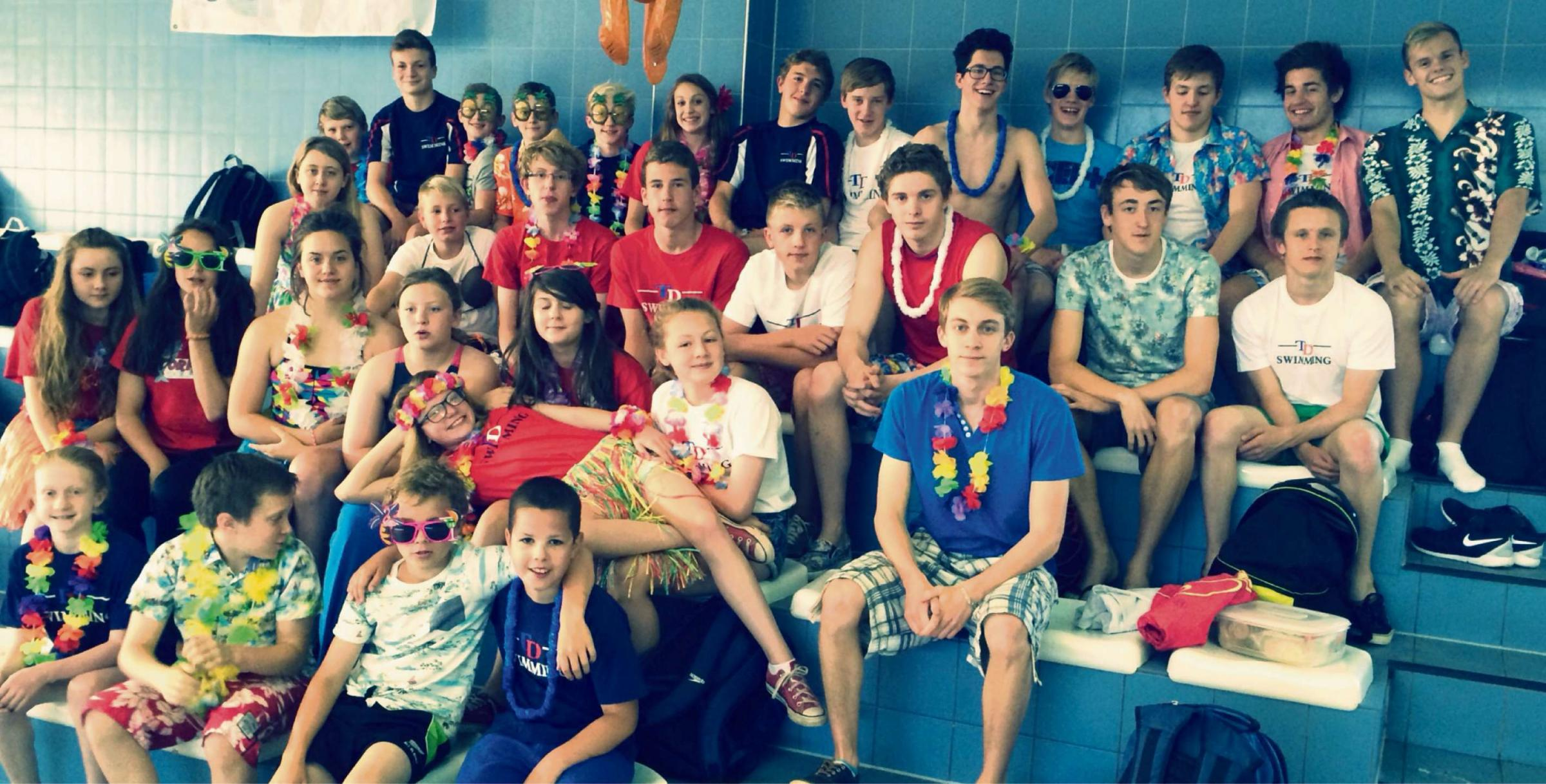 Torfaen Dolphins during the open meet
