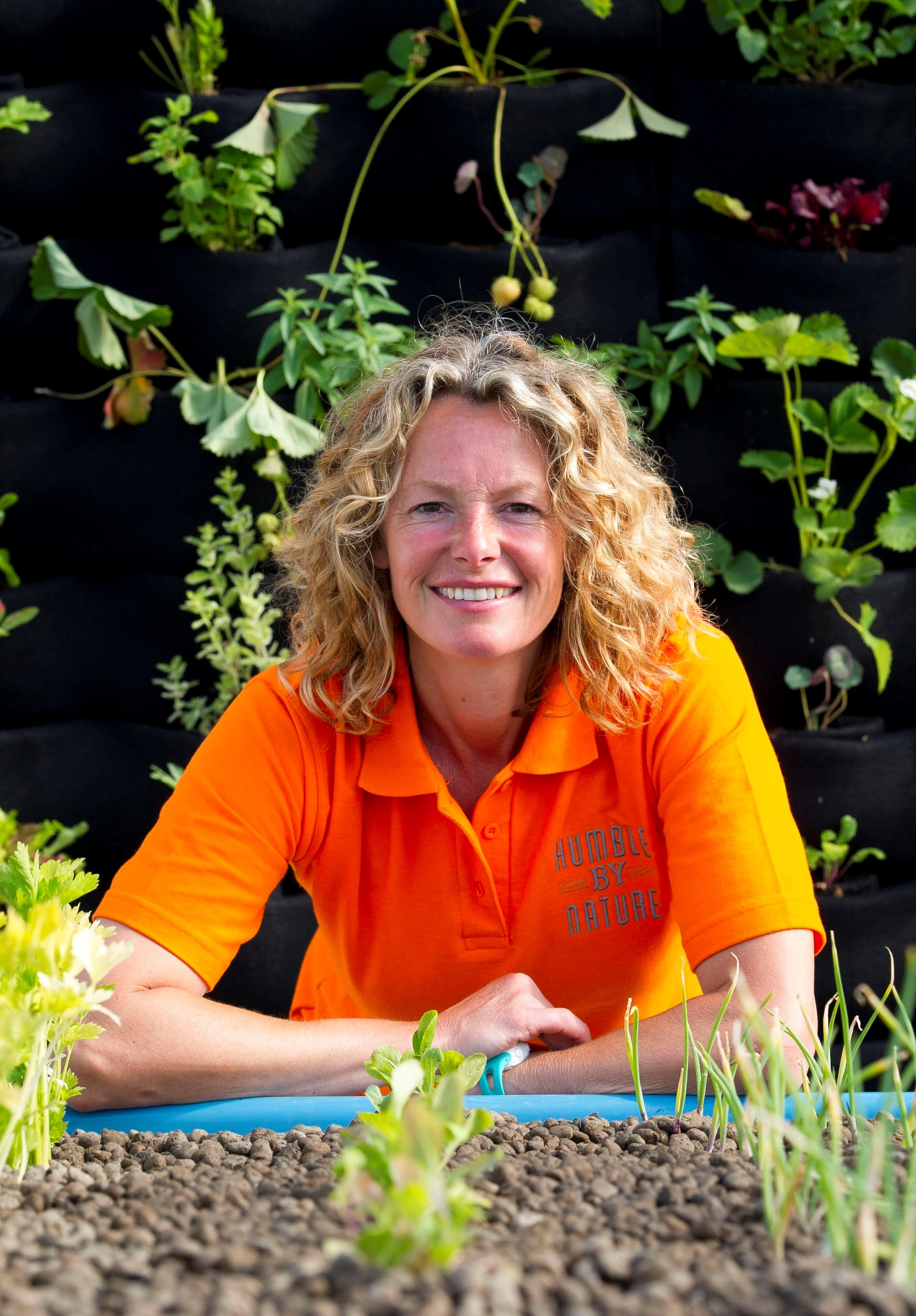 'EXCITING' PROJECT: Kate Humble of Humble by Nature at her Monmouthshire farm.