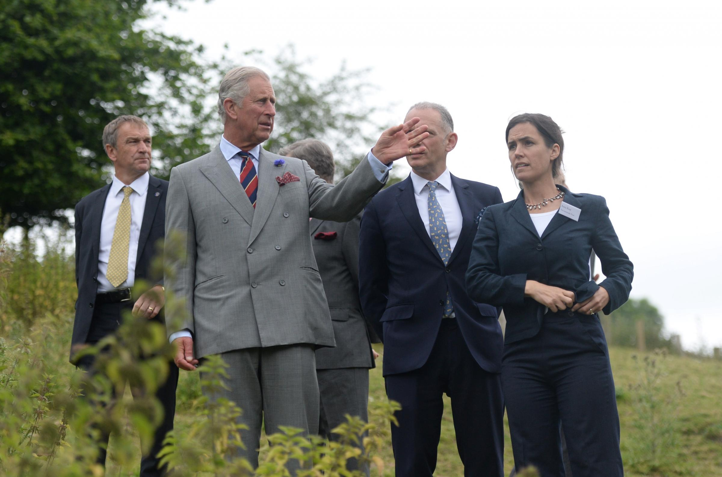 Gwent crowds greet Charles and Camilla