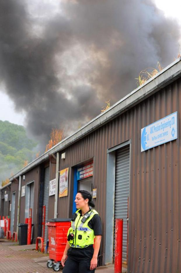 Free Press Series: 'Terrifying' Pontypool blaze causes thousands of pounds of damage
