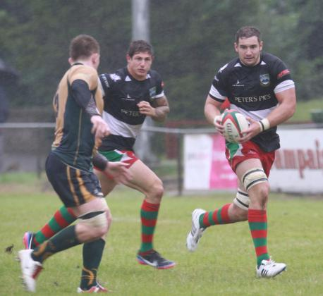 REWARD: James Thomas' fine displays for Bedwas have earned a Dragons deal (Picture: IAN LOVELL)