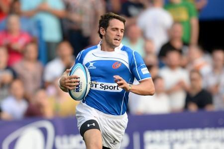 OPPORTUNITY TAKEN: Newport winger Elliot Frewen impressed for the Dragons in the Premiership Rugby 7s