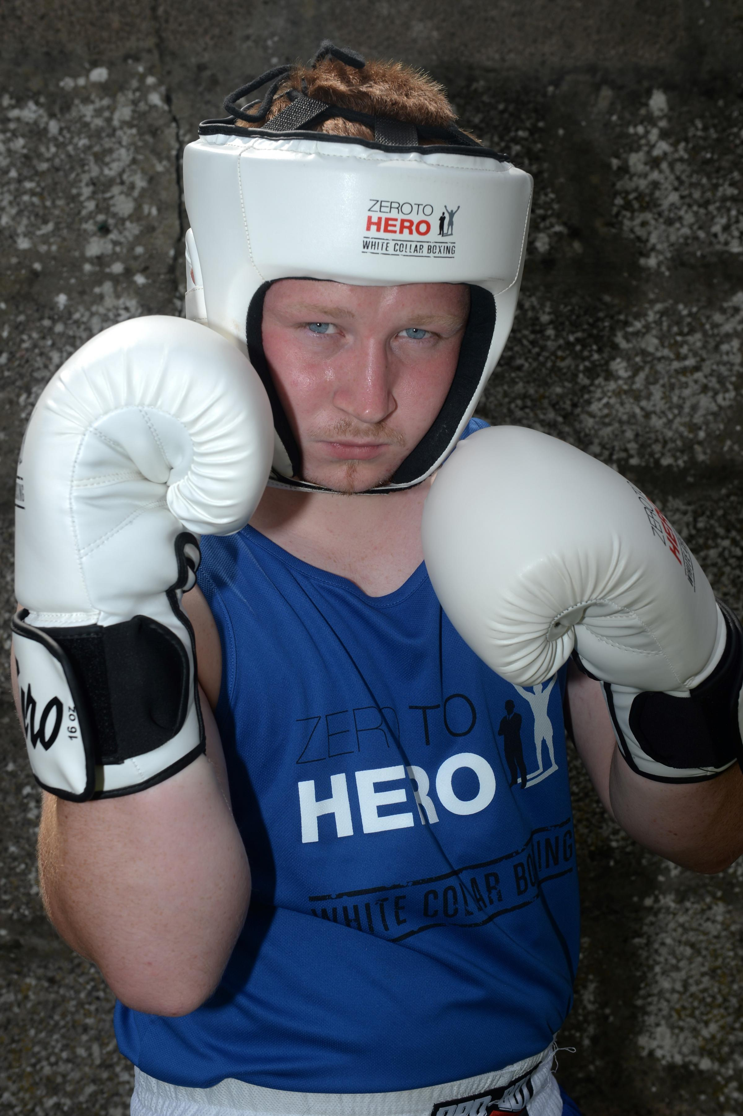 Chepstow boxer raises £560 after injury