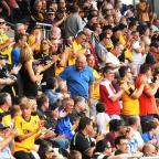 Free Press Series: Newport County AFC versus Wycombe Wanderers FANS Looking forward to the start of the season (9105094)