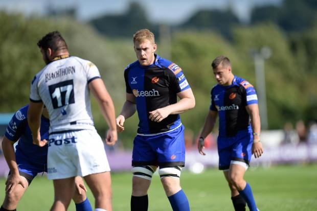 YOUNG LOCK: Newport Gwent Dragons prospect Scott Andrews