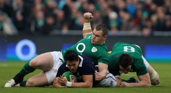 IRISH STAR: Cian Healy
